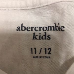 abercrombie kids Shirts & Tops - abercrombie and fitch girls 2pk tees size: 11/12